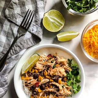 Slow Cooker Black Bean and Corn Salsa Chicken Recipe