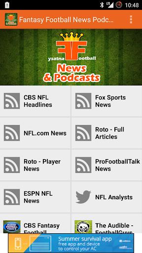 Fantasy Football Podcasts PRO