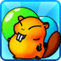 Bubble Beaver Game icon