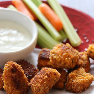 Baked Buffalo Chicken Nuggets Recipe