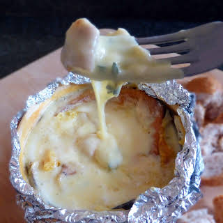 Creamy Vacherin Mont D'or Cheese Fondue.