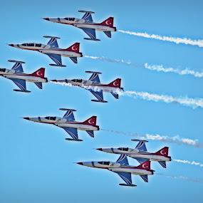 Turkey Team by Alina Dinu - Transportation Airplanes