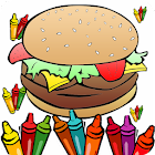 Food Coloring Pages icon