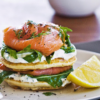 Smoked Salmon Stacks