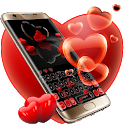 Scarlet Hearts Keypad Theme icon