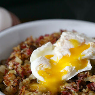 Corned Beef, Cabbage and Potato Hash.