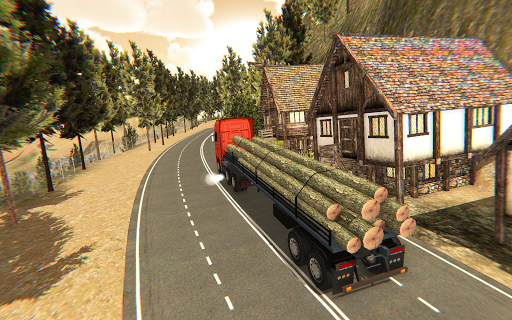 Cargo Delivery Truck Parking Simulator Games 2020  screenshots 1