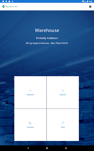 Screenshot for Agvance Warehouse in United States Play Store