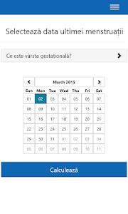 Etapele sarcinii screenshot 3