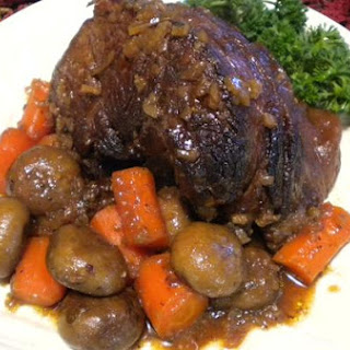 Beef Brisket Oven Pot Roast