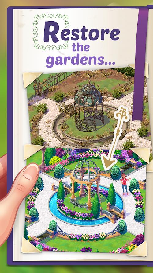 Screenshot 1 Lily's Garden 1.24.0 APK MOD