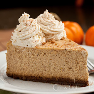 New York Style Pumpkin Cheesecake