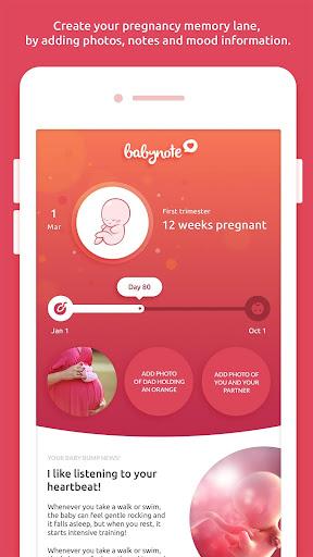 玩免費醫療APP|下載Babynote - pregnancy tracker app不用錢|硬是要APP