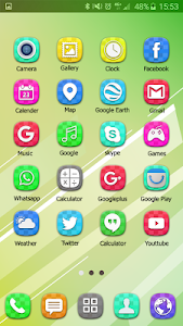 Colorful Launcher Theme FREE screenshot 9
