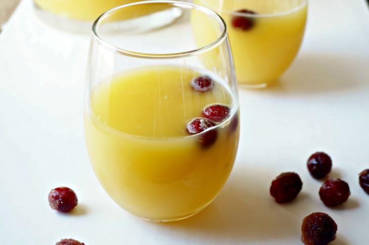 Cranberry Orange Spritzer Recipe   Yummly