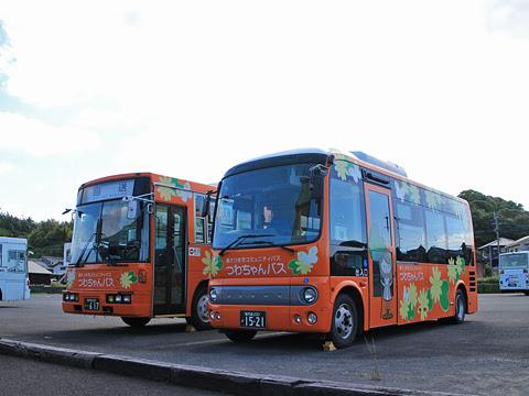 鹿児島交通 南さつま市コミュニティバス「つわちゃんバス」