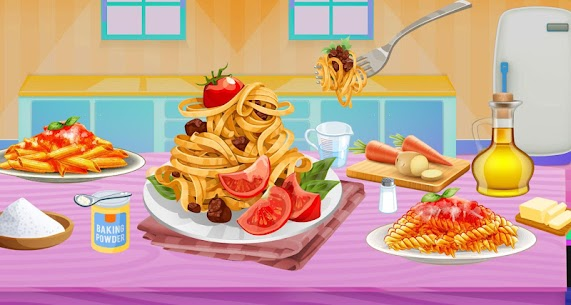 Make Pasta In Cooking Kitchen Food Maker 6