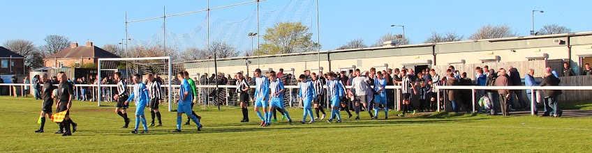 Photo: 18/04/14 v Crook Town (Northern League Division One) 7-3 - contributed by Gary Spooner