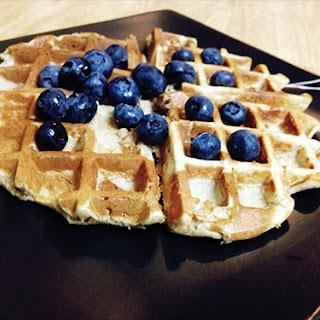 Oat Flour Waffles Recipe