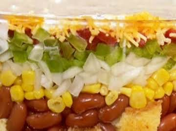 Incredible Cornbread Salad
