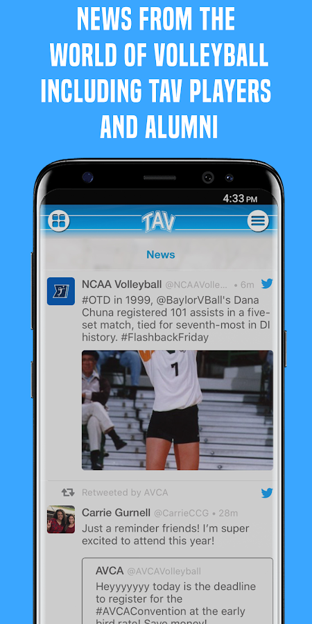 TAV - Texas Advantage Volleyball- screenshot
