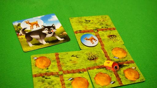 ファーミニ:オオカミカードの処理1