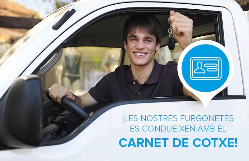 Llogar online una furgoneta <br><strong>amb Olécar rent a car</strong>