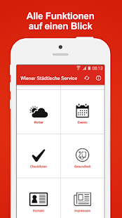 Wiener Städtische Service - náhled