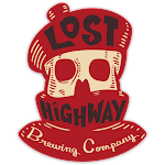 Logo of Lost Highway Brewing Company Bad Moon Rising