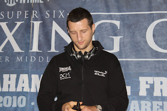 Photo: Carl Froch Nottingham, Nottinghamshire, United Kingdom won 26 (KO 20) + lost 1 (KO 0) + drawn 0 = 27