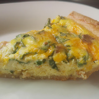 Bacon and Chard Quiche