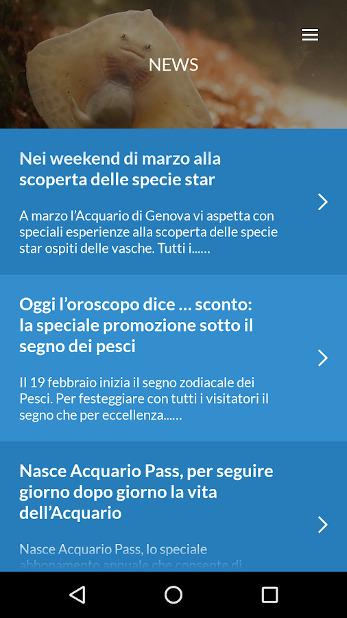 Acquario di Genova- screenshot