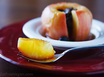 5 Minute Baked Apple Recipe