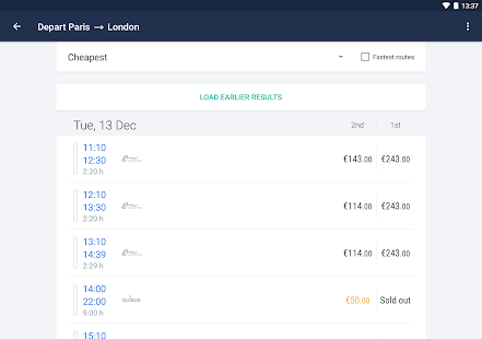 Trainline EU (Captain Train) Screenshot 10