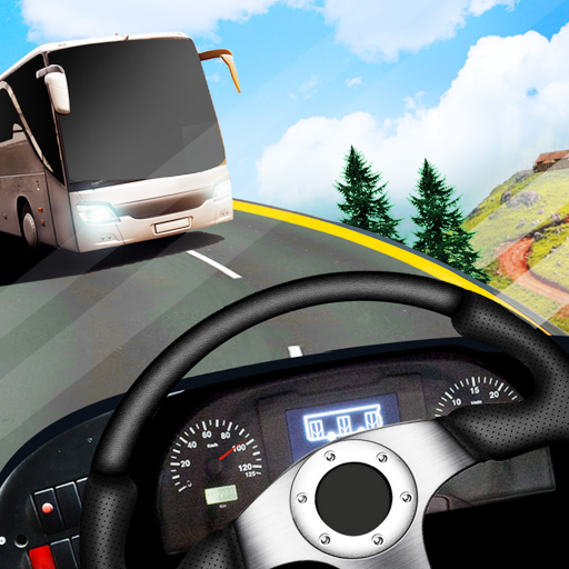 Tour Coach Bus Hill Climb Sim