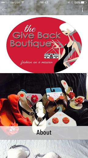 Give Back Boutique screenshot 1