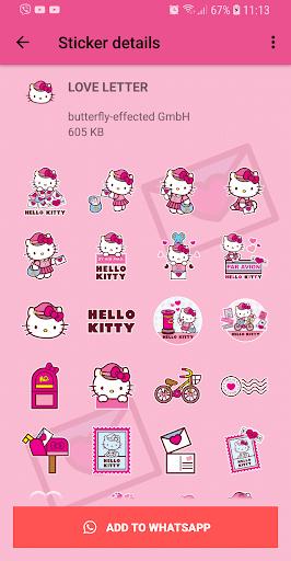 Stickers De Hello Kitty Para Whatsapp.Hello Kitty Love Stickers Wastickerapps Apps On Google Play