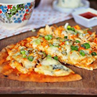 Buffalo Chicken Flatbread Pizzas