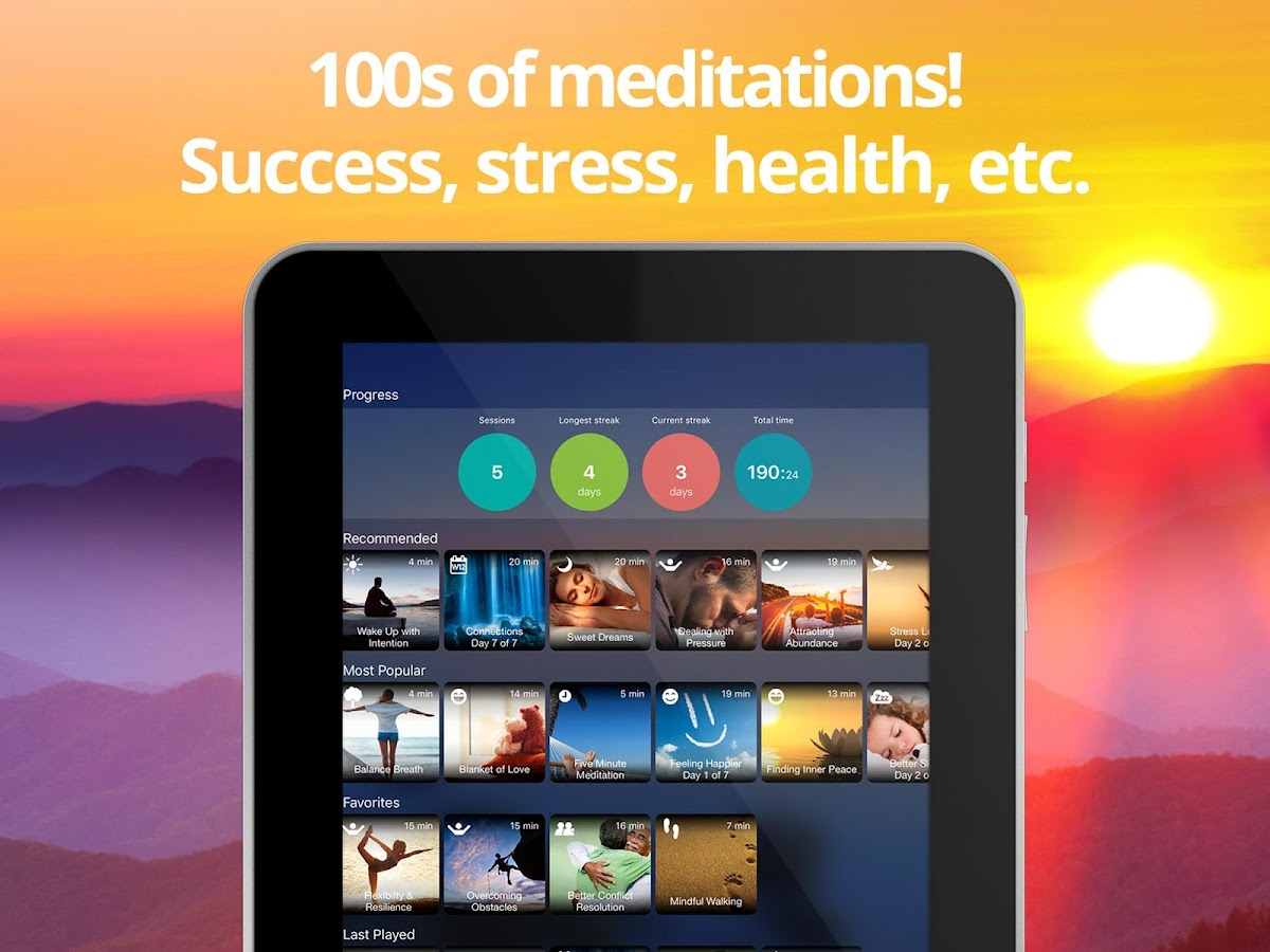 Breethe - Guided Meditation and Mindfulness- screenshot