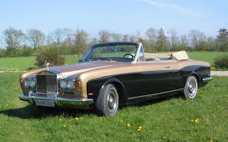 Rolls-Royce Corniche Rent Midtjylland
