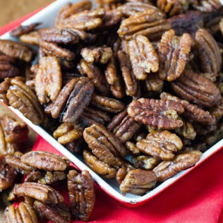 Stovetop Spiced Pecans.