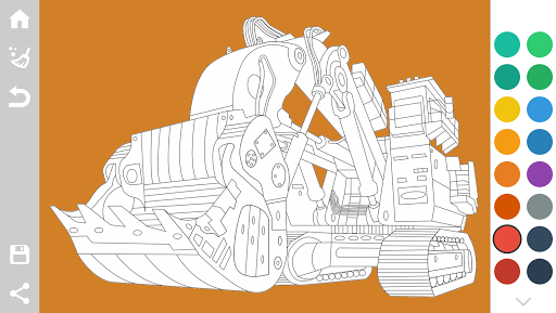 Tractors Coloring Pages Game 1.6 screenshots 7
