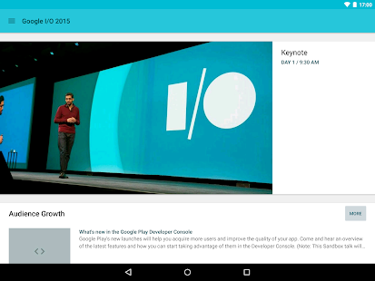 Google I/O 2015 - screenshot thumbnail