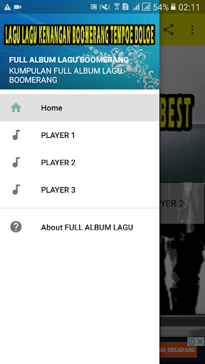 FULL ALBUM LAGU BOOMERANG ss1