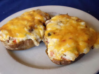 Amazing Twice Baked Potatoes Recipe