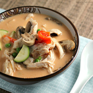 Coconut Chicken Thai Soup