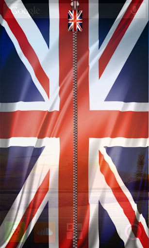 英國國旗屏幕鎖拉鍊