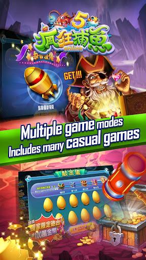 Crazyfishing 5-2018 Arcade gold fishing game 1.0.1.2 {cheat hack gameplay apk mod resources generator} 3