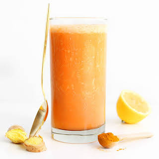 Carrot Ginger Turmeric Smoothie.