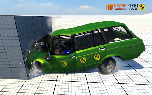 Car Crash Test VAZ 2104  captures d'u00e9cran 2